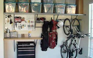 Идеи для гаража: улучшаем интерьер своими руками