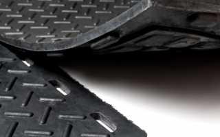 Резиновое покрытие для гаража на пол: виды и устройство