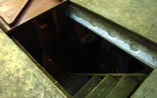 Как сделать смотровую яму в гараже своими руками