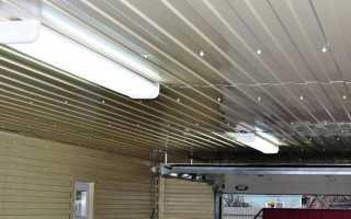 Потолок в гараже: как обустроить своими руками