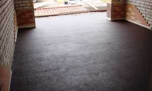 Уплотнение и пропитка для бетонного пола в гараже