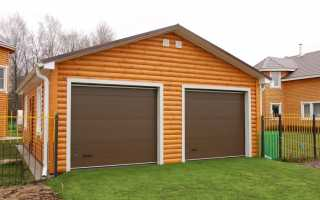 Как построить каркасный деревянный гараж самому