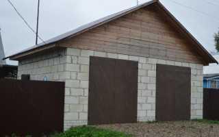 Из чего построить гараж дешевле: варианты