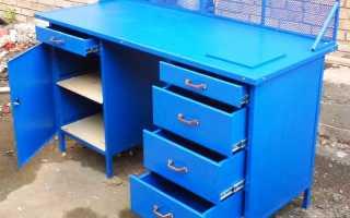 Верстак в гараж — как сделать своими руками стол для гаража