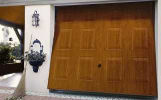 Как сделать ворота для гаража своими руками: подъемно-секционные