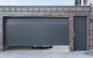 Размер ворот для гаража: оптимальные ширина и высота