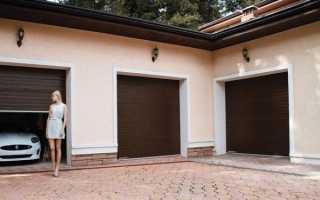 Роллетные ворота для гаража: виды устройств и размеры, их плюсы и минусы