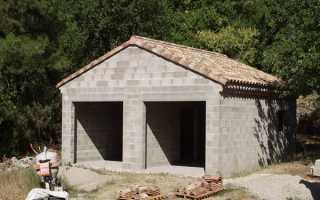 Как построить гараж из шлакоблока своими руками: советы и рекомендации