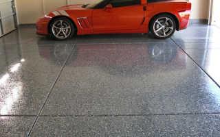 Чем покрыть пол в гараже: выбор напольного покрытия