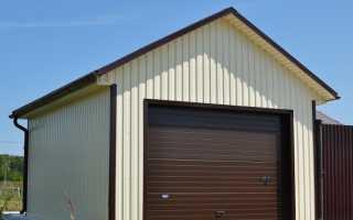 Крыша на гараж своими руками: как рассчитать и сделать