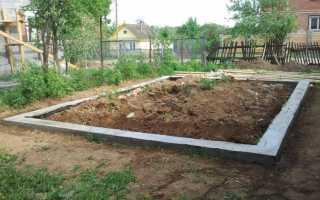 Как заложить фундамент под гараж на сложных грунтах?