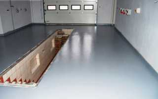 Краска для бетонного пола в гараже: как выбрать