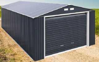 Сколько весит металлический гараж 3х6: как рассчитать показатели массы