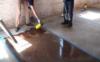 Чем покрасить бетонный пол в гараже, чтобы не пылил: что лучше для покрытия