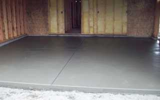 Как выровнять бетонный пол и чем: способы и материалы