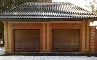 Кирпичный гараж: строительство своими руками