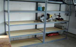Мебель для гаража и мастерской: чем можно укомплектовать, как сделать своими руками