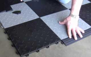 Плитка в гараж на пол: как выбрать лучшую