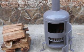 Печка в гараж на дровах своими руками — как сделать
