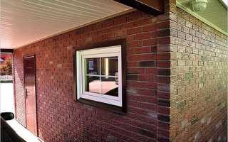 Окна в гараже: стандартные размеры, как монтировать своими руками