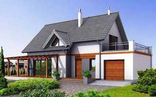 Проект дома с мансардой с гаражом: варианты