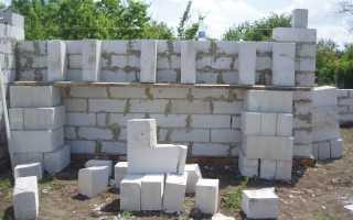 Рассчитать количество блоков для гаража: калькулятор