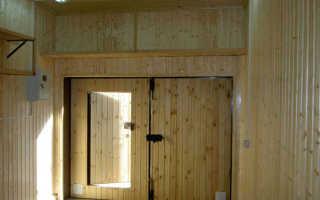 Как утеплить двери в гараже: выбор материалов, этапы работы, примеры