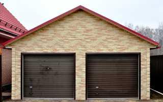 Проекты гаражей на 2 машины и их преимущества