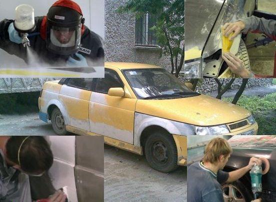 сделано в гараже ремонт авто