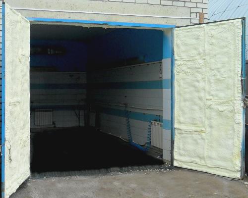 уплотнитель ворот гаража