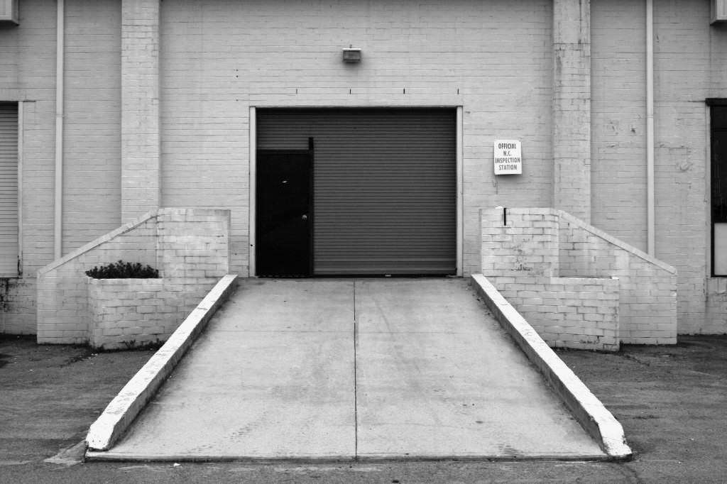 площадка перед гаражом