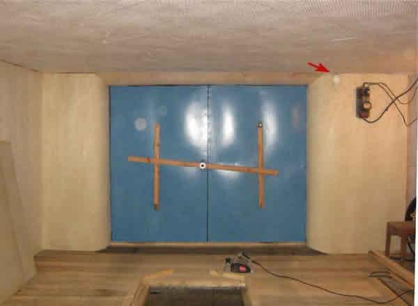 запор вертушка в гараж