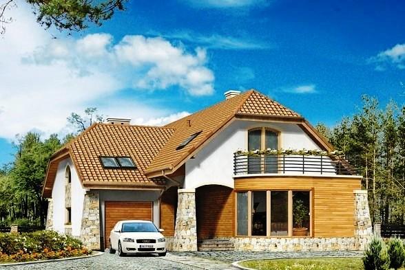 частный дом с гаражом