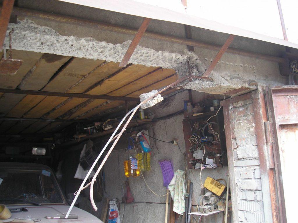 поднять ворота гаража на 1 кирпич