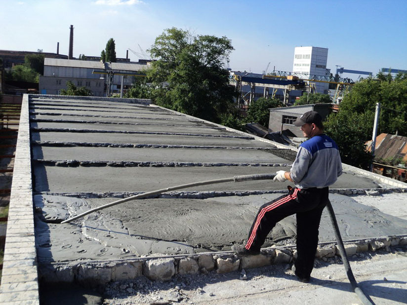 стяжка крыши гаража своими руками