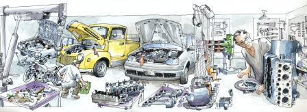 производство в гараже идеи