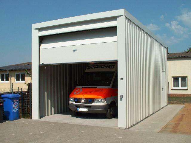 блок контейнер гараж