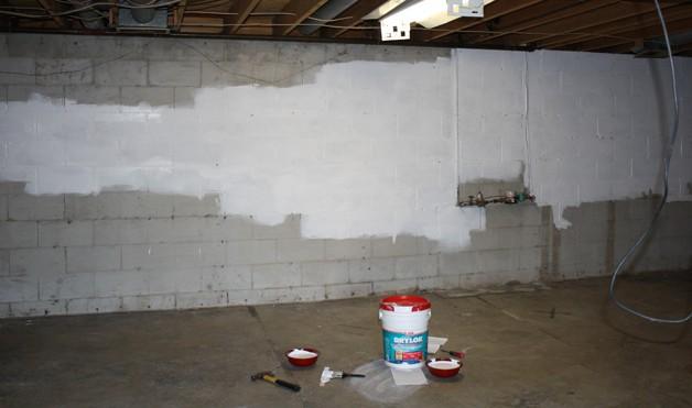 Отделка подвала в гараже