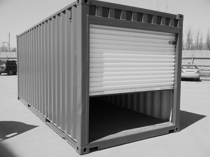 гараж из контейнеров