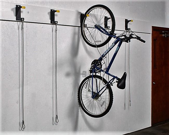 способ подвесить велосипед