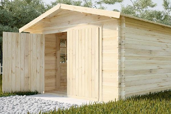 деревянное построение