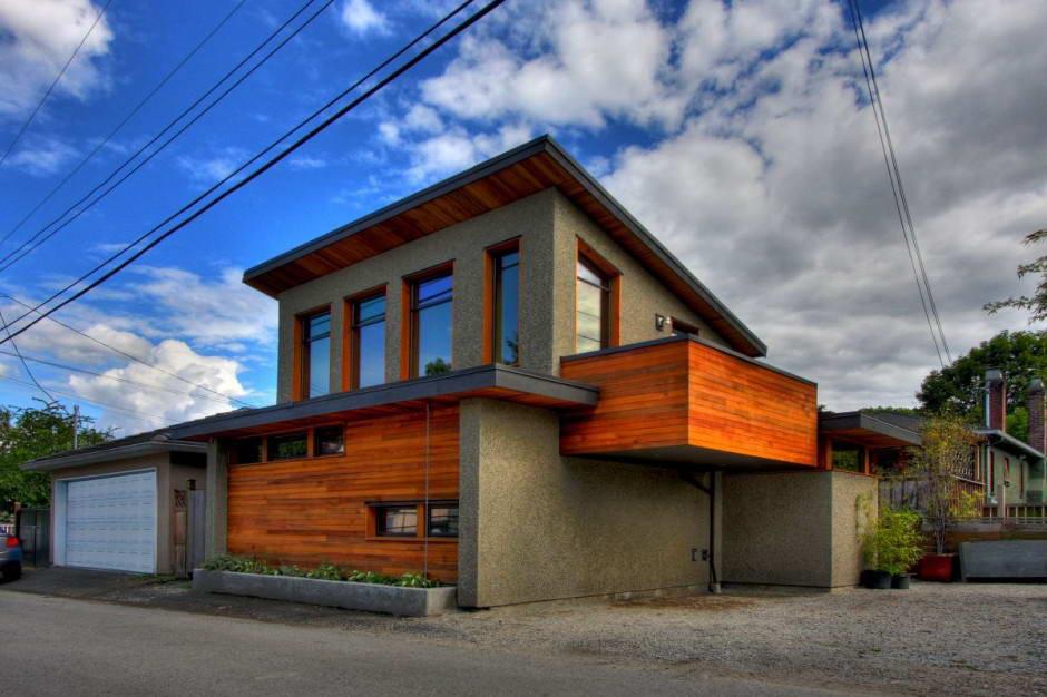 Гараж с жилой надстройкой является выгодным вариантом обустройства дополнительной жилой площади