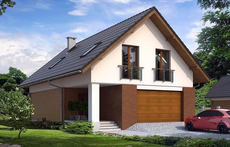 Проект дома с мансардой выгоден и удобен