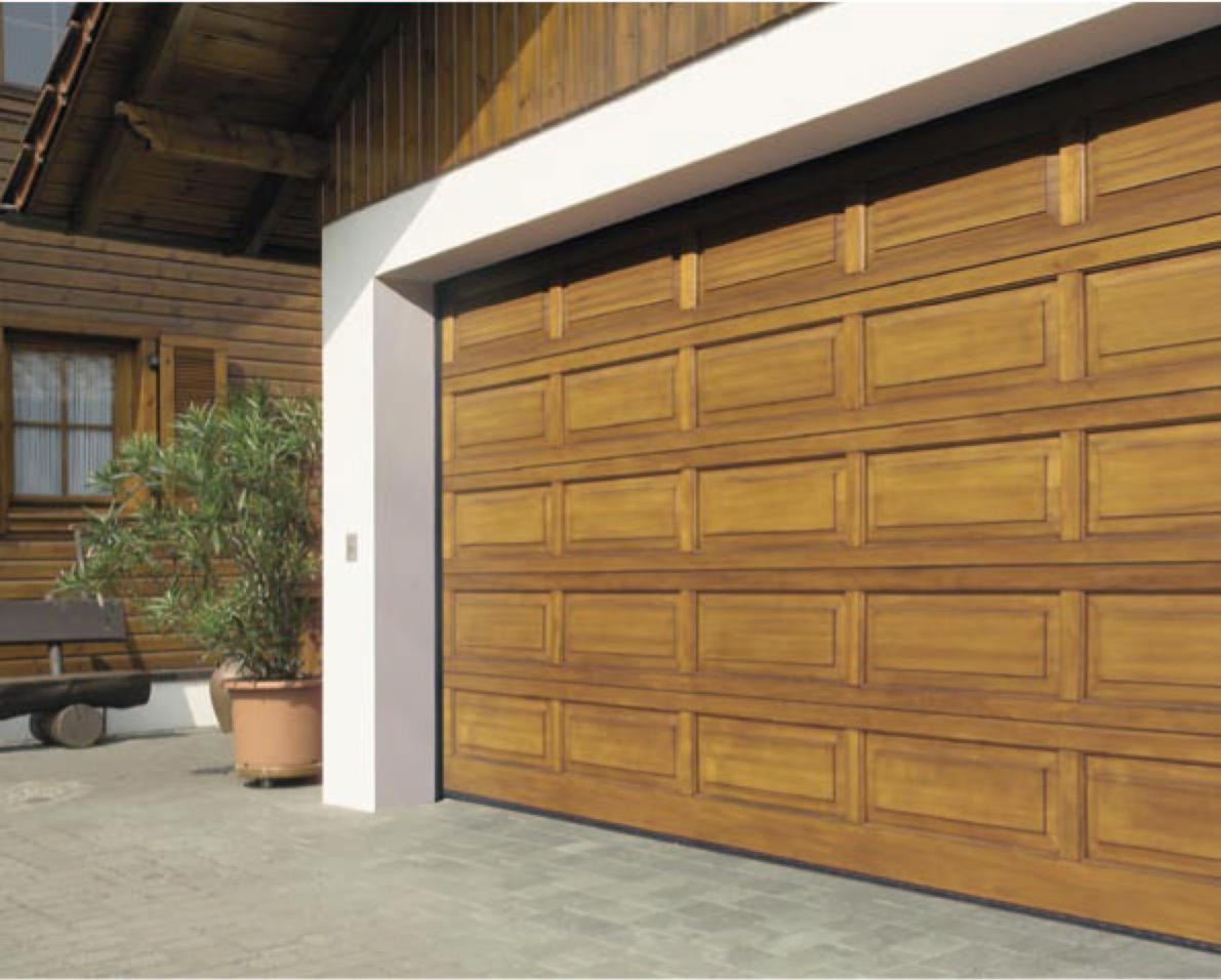 Современные двери для гаража