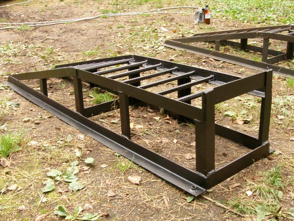 Самодельная эстакада выгодна для профилактического ремонта