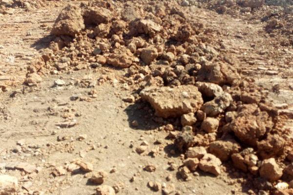 глина на грунту