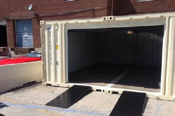 гараж из контейнера