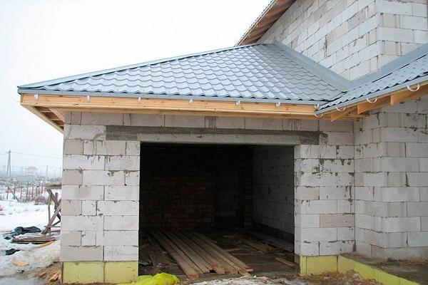 перекрытия для крыши
