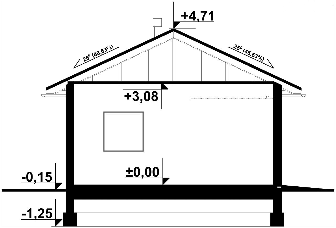 Типовый сборный гараж без излишеств легко строится своими руками