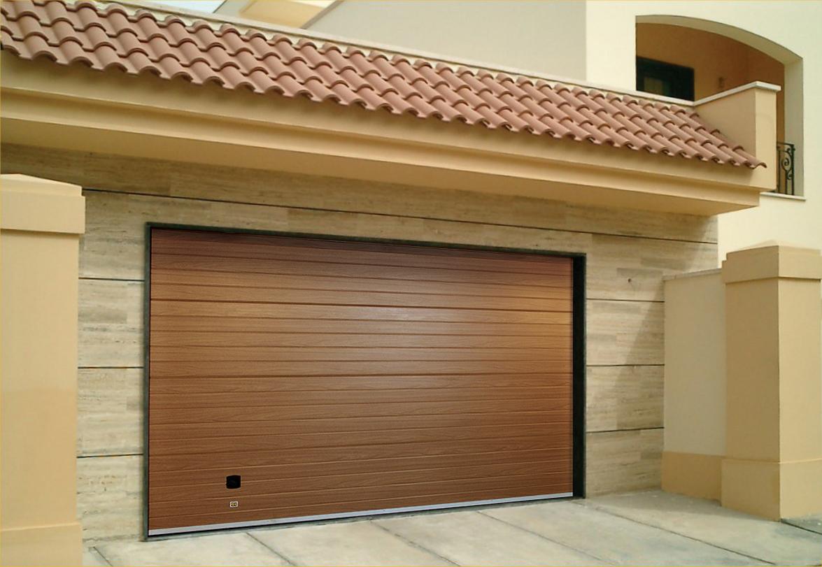 Ворота элитные гаражные